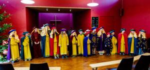 Ökumenischer Gottesdienst mit den Sternsingern