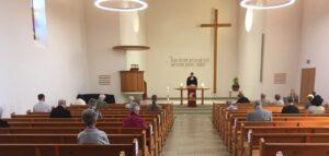Endlich wieder Gottesdienst in der Kirche